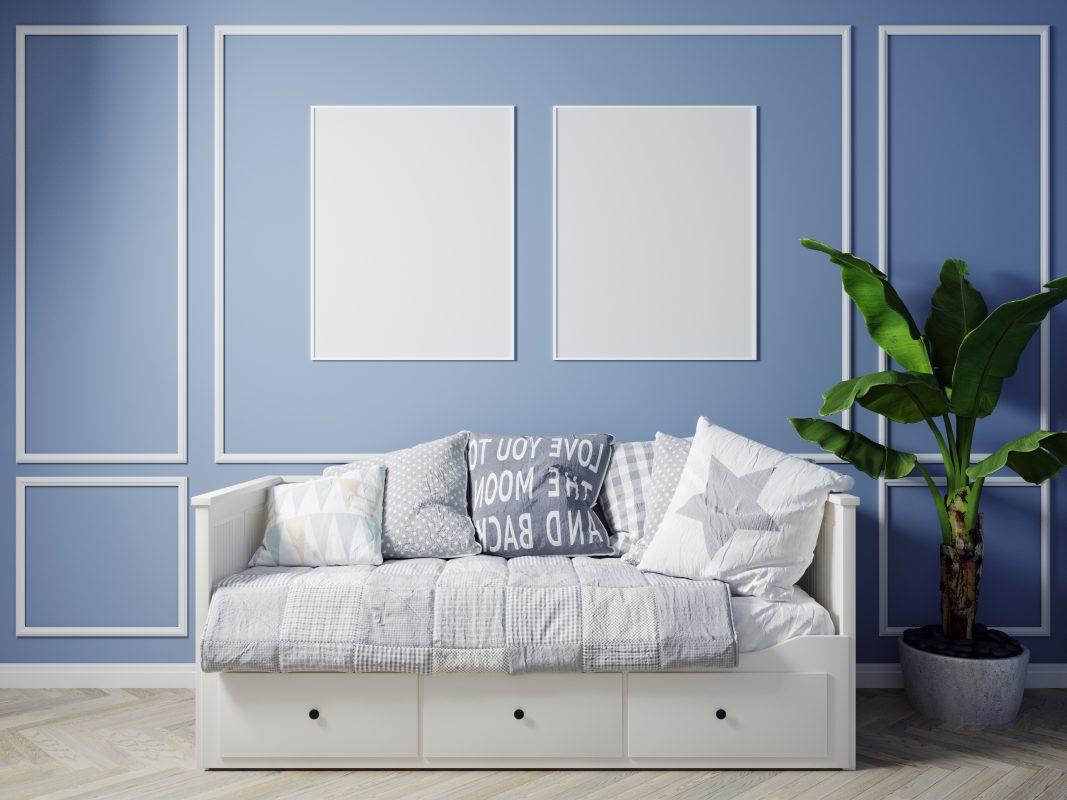 Modern Living Room Interior Background