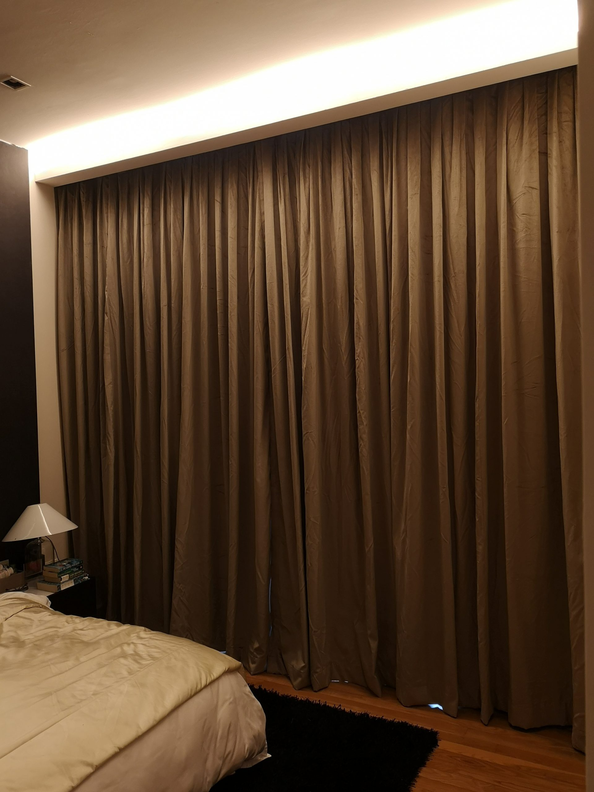 Brown Curtain for Bedroom