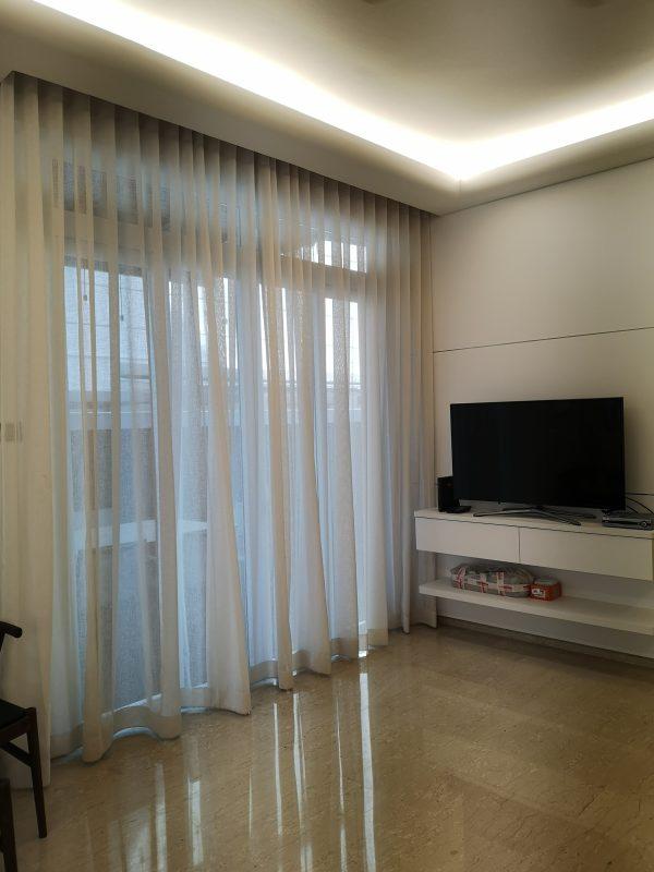 Translucent Curtain in Living Room
