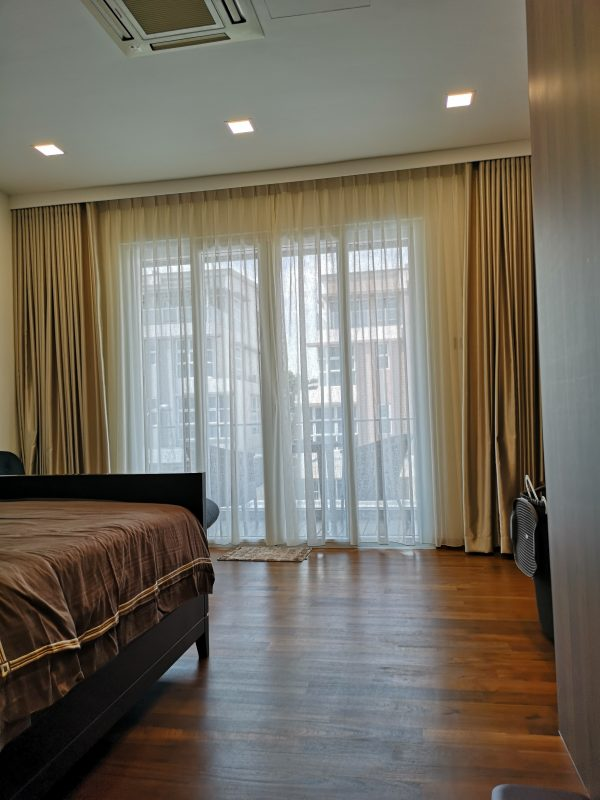 Double Layer Curtain for Room